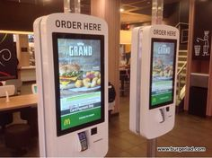 McDonald's Touch Screen Ordering