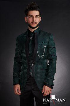 1 new message Mandarin Collar, Wedding Suits, Tuxedo, Mens Suits, Party Wear, Men's Shoes, Costumes, Suit Jacket, Menswear