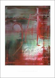 Gerhard Richter: 'Abstraktes Bild 889-5′, 2004, Offsetlithografie, Format 85 x61cm. Nach dem gleichnamigen Bild von 2004, Catalogue Raisonné: 889-5.