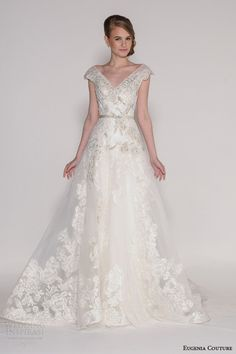 Eugenia Couture Spring 2016 Wedding Dresses | Wedding Inspirasi