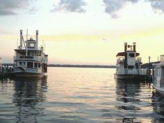 Lake Geneva WI. The Lady and the Duchess. Lake Geneva Cruise Line Boats.