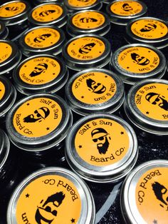 Batch of beard balm ready to go out!