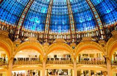 <p><strong>Where: </strong>Paris</p><p>As the most famous of Paris' grands magasins (department stor... - Galeries Lafayette