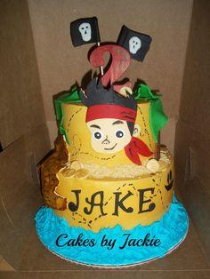 Pirate. Treasure hunt map boys cake