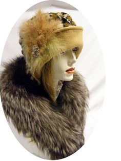 Fabulous Flapper vintage style Chic CLOCHE by aileens4hats 6c575a03b9ad