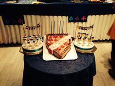 Shield cake