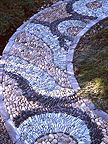 I would be so happy to walk up this path...  #stone, #garden, #walkway