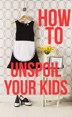How to unspoil your kids - Parenting.com #ParentingKids