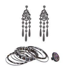 Classy earrings.
