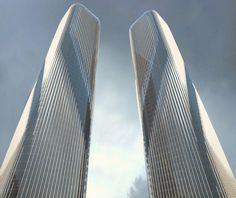 LAVA's Masterplan and Twin Zhejiang Gate Towers for Hangzhou City