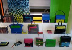 Piquadro Showroom in Milan - http://olschis-world.de/  #Piquadro #bag #milan