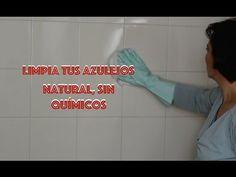 Cómo limpiar restos de jabón y cal de los azulejos - YouTube