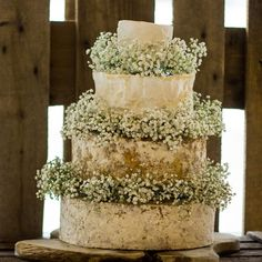 Minnie Cheese Wedding Cake - A four-tier cake, with a delicious balance of tangy…
