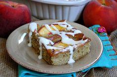 Fresh Peach Cake #recipe