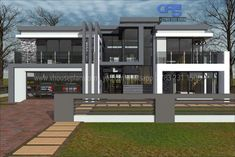 Dream Homes, My Dream Home, 5 Bedroom House Plans, Luxury Modern Homes, Building Costs, Guest Toilet, House Blueprints, Guest Bed, Home Collections