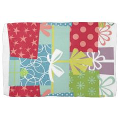 Gifts Galore Kitchen / Guest Towel Hand Towels Fun & colorful Birthday / Holiday design