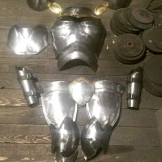 Fantasy armor Iron Golem, Fantasy Armor, Napkin Rings, Home Decor, Homemade Home Decor, Interior Design, Home Interiors, Decoration Home, Home Decoration