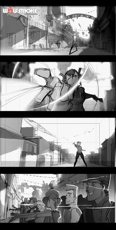 Wolf Smoke Studio — Scene by Clover from WolfSmoke in February. Storyboard Examples, Storyboard Drawing, Animation Storyboard, Storyboard Artist, Animation Reference, Art Reference Poses, Drawing Tips, Disney Character Drawings, Disney Drawings