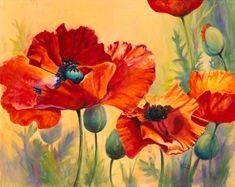 poppy artwork | Doris Biddle–painter