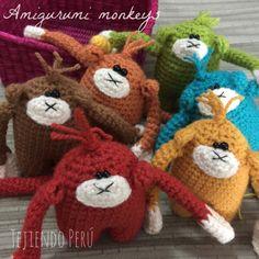 Amigurumi monkeys!