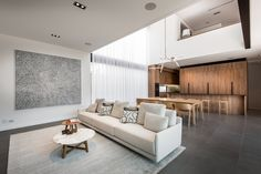 Bright and inviting modern show house in Perth, Australia