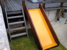 DIY講座(子供に滑り台を作りましょう) - とんかちドリルズ