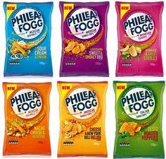 Phileas Fogg snacks PD