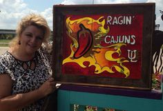Looking for UL Ragin' Cajuns art for a man-cave?