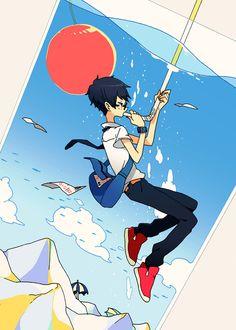 「エスケープ」/「けーしん」のイラスト [pixiv] Manga Drawing, Manga Art, Anime Art, Anime Scenery Wallpaper, Cute Stories, Manga Illustration, Awesome Anime, Creature Design, Aesthetic Art