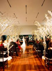 Great for Indoor ceremony with Chuppah