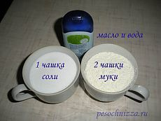 Соленое тесто рецепт. Поделки из соленого теста | pesochnizza.ru