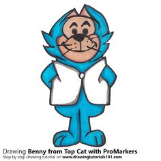 Benny from Top Cat with ProMarkers