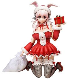 Super Sonico Christmas Version. Leuke anime figuur.