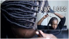 Faux Locs Tutorial: The Crochet Method [Video] - http://community.blackhairinformation.com/hairstyle-gallery/locs-faux-locs/faux-locs-tutorial-video-2/