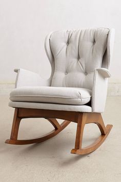 Finn Rocker - anthropologie.com » Love this chair, would be awesome in my living room or in a nursery.