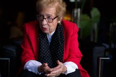 """Eva Schloss lived across the street from Anne, and her mother later married Anne's father. She said Anne was the leader among their friends, and occasionally had a """"domineering"""" streak."""