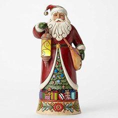 Jim-Shore-Santa-with-Lighted-Lantern