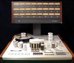 """Studer A827 - Reel To Reel Tape Recorder -Real High End Professional Studio Stuff"""" !...  htp://about.me/Samissomar"""
