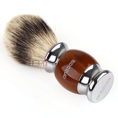 Anbbas best shaving brush pure #silvertip badger hair resin #kirsite #plated hand,  View more on the LINK: http://www.zeppy.io/product/gb/2/122030723032/