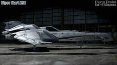 Pierre Drolet Sci-Fi Museum - Viper Mark XIII