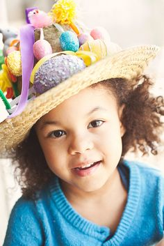 easter bonnets by Knjapa, via Flickr Easter Hat Parade, Easter Bonnets, Nyc, Bright, Hats, Hat, Hipster Hat, New York