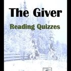 Complete set of reading quizzes for all of The Giver by Lois Lowry.  A total of 72 questions in all; quizzes are divided every two or three chapter...