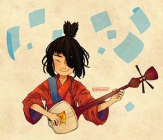 啊... Kubo and the Two Strings
