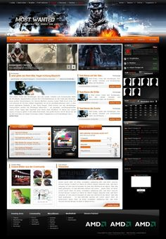 Most Wanted Battlefield 3 Edition - Templates - ClanDesigns
