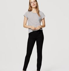 Expertly designed with premium mills to smooth, lift, fit and flatter in all the right places, our denim is so soft and stretchy you'll never want to take it off – and only gets better, wear after wear. A great pair of black skinnies you can wear for any occasion!