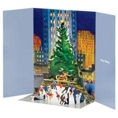 Golinkin: Rockefeller Center at Christmas Holiday Cards - Holiday Cards - Holiday - The Met Store