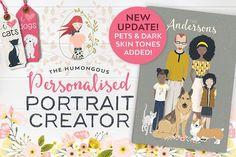 Personalised Portrait Creator - Illustrations