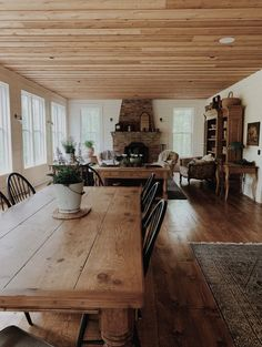 a weekend in may… – edgewood farmhouse Modern Farmhouse, Farmhouse Style, Narrow Living Room, Living Area, Ohio House, Living Room With Fireplace, Dining Room Design, Cool Rooms, House Rooms