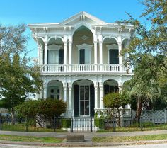 Fresh Victorian - Galveston's Historic District, TX