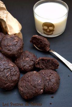 Galletas de chocolate con aceite de oliva. Los postres de Teresa